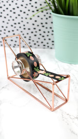 Copper Tape Dispenser, desk - Jessica Hearts