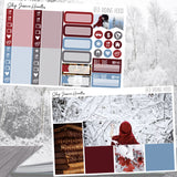 Red Riding Hood Weekly Sticker Kit