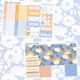 Roman Holiday Weekly Sticker Kit, planner stickers - Jessica Hearts