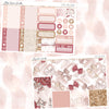 Rose Ballerine Weekly Sticker Kit, stickers - Jessica Hearts