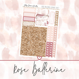 Rose Ballerine Ultimate Sheet