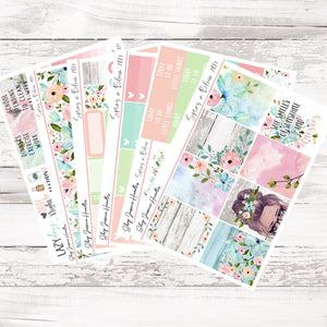 NEW Spring in Bloom 2.0 Weekly Sticker Kit