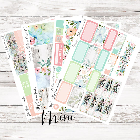 NEW Spring in Bloom 2.0 MINI Sticker Kit