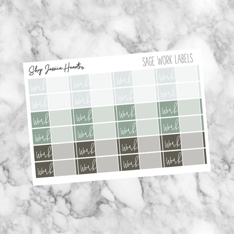 Sage Flight Tracker Stickers