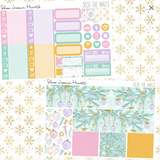 Deck the Halls Weekly Sticker Kit, stickers - Jessica Hearts