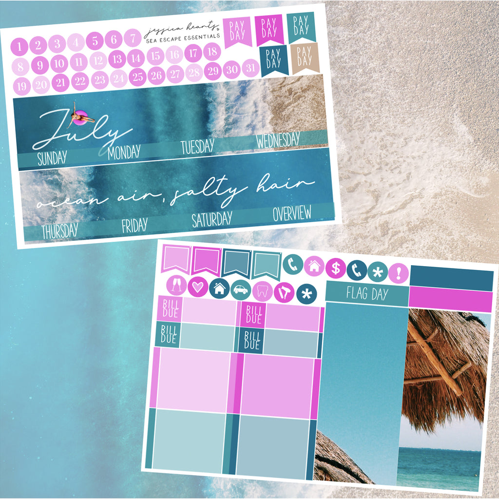 Sea Escape July 2020 ESSENTIALS Monthly Kit