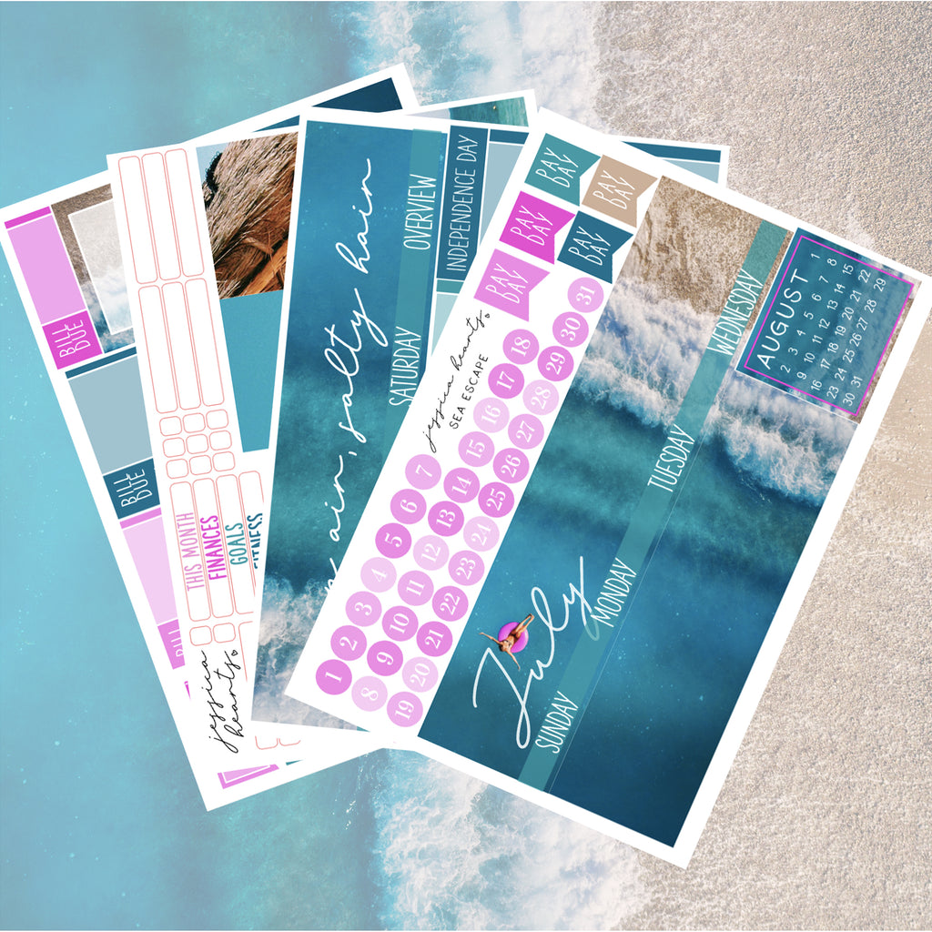 Sea Escape July 2020 Monthly Kit