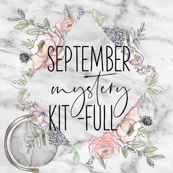 September FULL Mystery Weekly Sticker Kit, Monthly/Notes Kits - Jessica Hearts