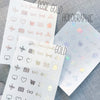 Foiled Sticker Shop Owner Overlay Stickers (Transparent),  - Jessica Hearts