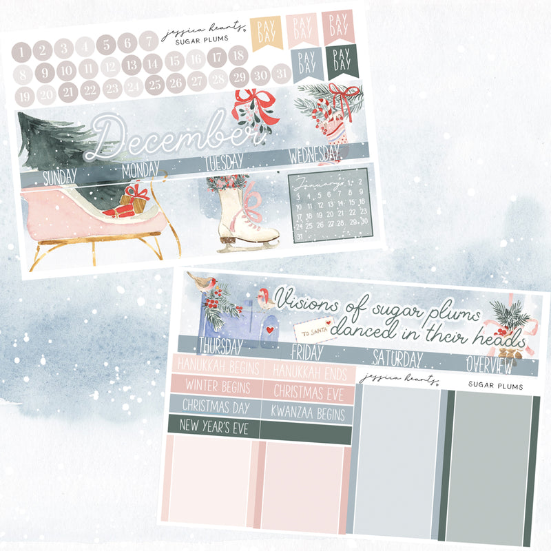 Sugar Plums December 2020 Monthly Kit