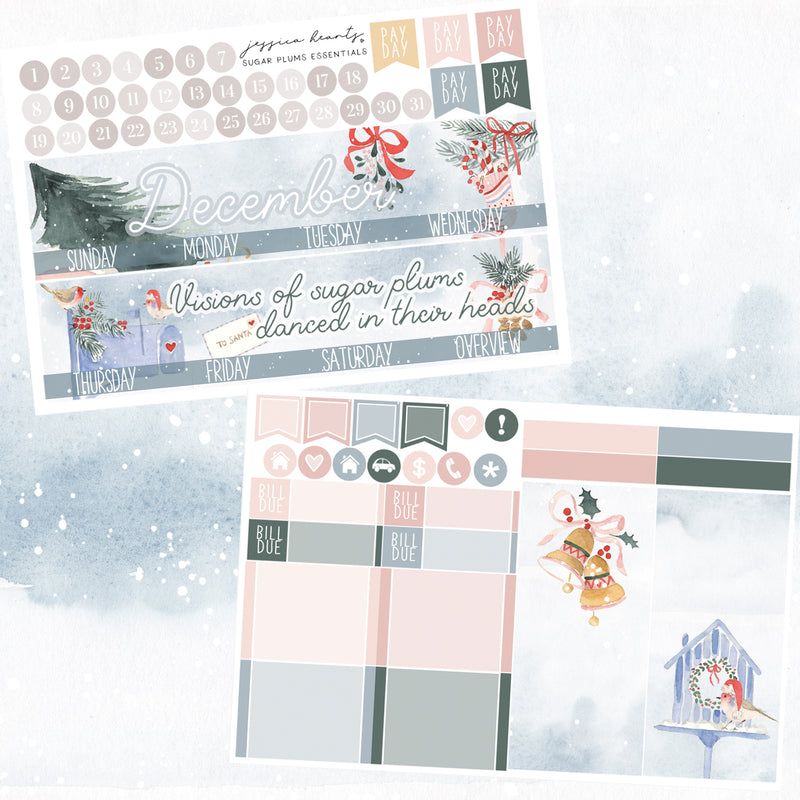 Sugar Plums December 2020 ESSENTIALS Monthly Kit