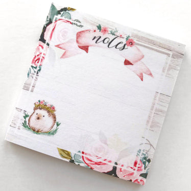 Summer Garden Sticky Notes, sticky notes - Jessica Hearts