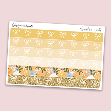 Sunshine Washi Style Stickers