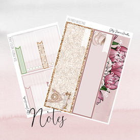 Tea Party May 2019 Notes Page Kit
