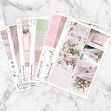 Think Pink Weekly Sticker Kit,  - Jessica Hearts