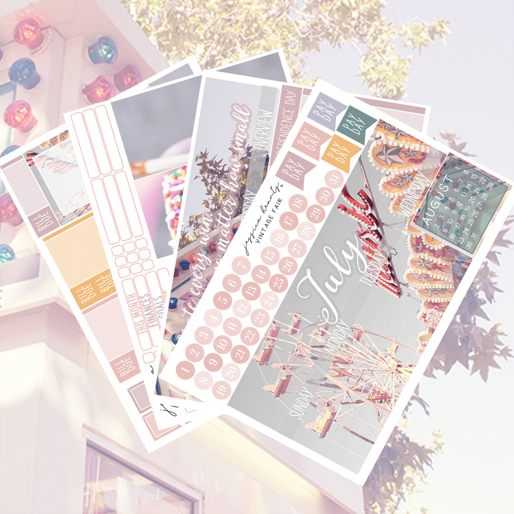 Vintage Fair July 2020 Monthly Kit