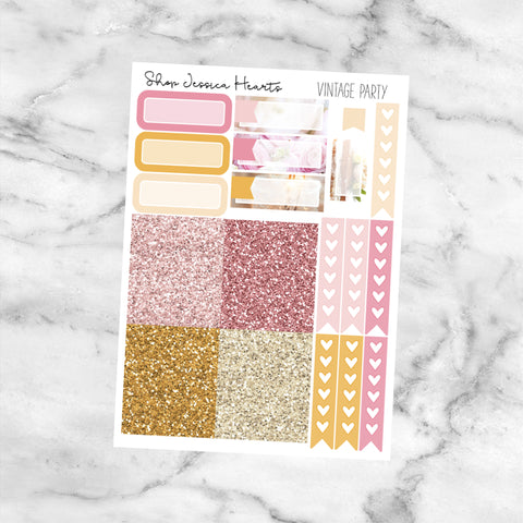 Summer Castle MINI Sticker Kit