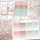 Vintage Wedding Weekly Sticker Kit, stickers - Jessica Hearts