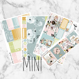 Wanderlust Mini Weekly Sticker Kit,  - Jessica Hearts