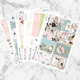 Wanderlust Weekly Sticker Kit,  - Jessica Hearts