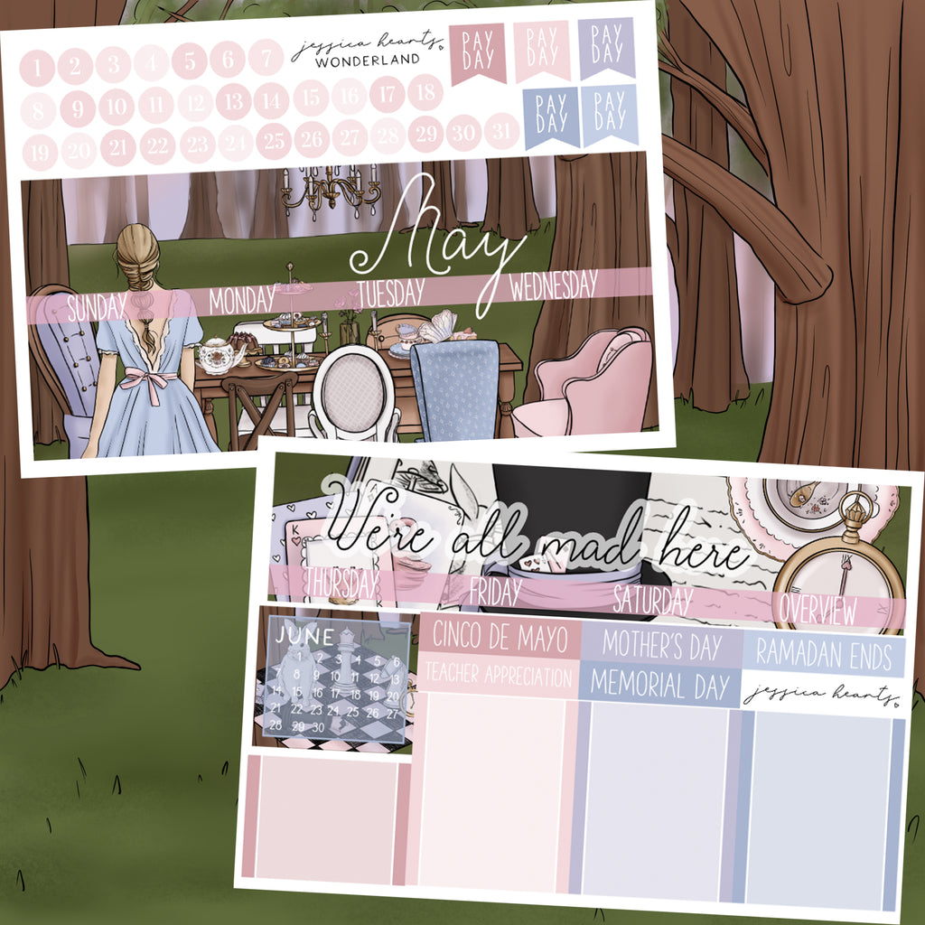 Wonderland May 2020 Monthly Kit