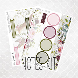 Woodland Walk Notes Page Kit