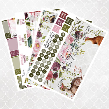 Woodland Walk September EC Monthly Kit,  - Jessica Hearts