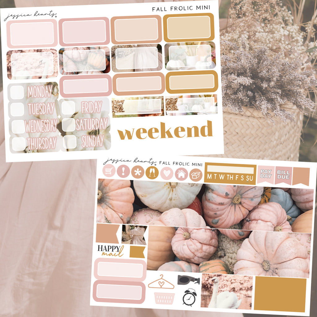 Fall Frolic MINI Sticker Kit