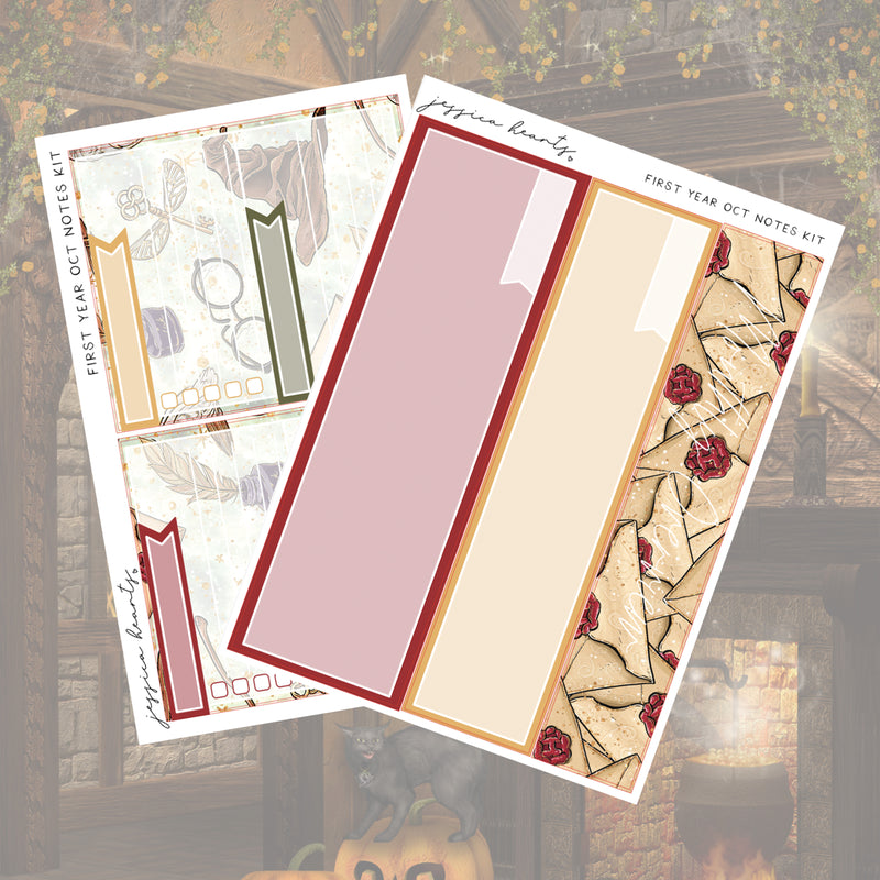 First-Year October 2019 Notes Page Kit