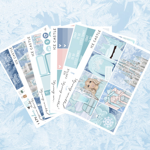 Winter Nights Weekly Sticker Kit