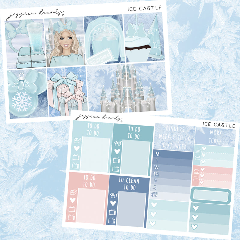 Ice Castle MINI Sticker Kit