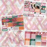 Weekend Vibes MINI Sticker Kit / Fits Erin Condren Vertical Life Planner