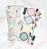 Planner Girl April Notes Page Kit / Fits Erin Condren Vertical Life Planner