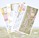 Beach Bike June Monthly Kit / Fits Erin Condren Vertical Life Planner