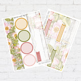VW May Notes Page Kit / Fits Erin Condren Vertical Life Planner