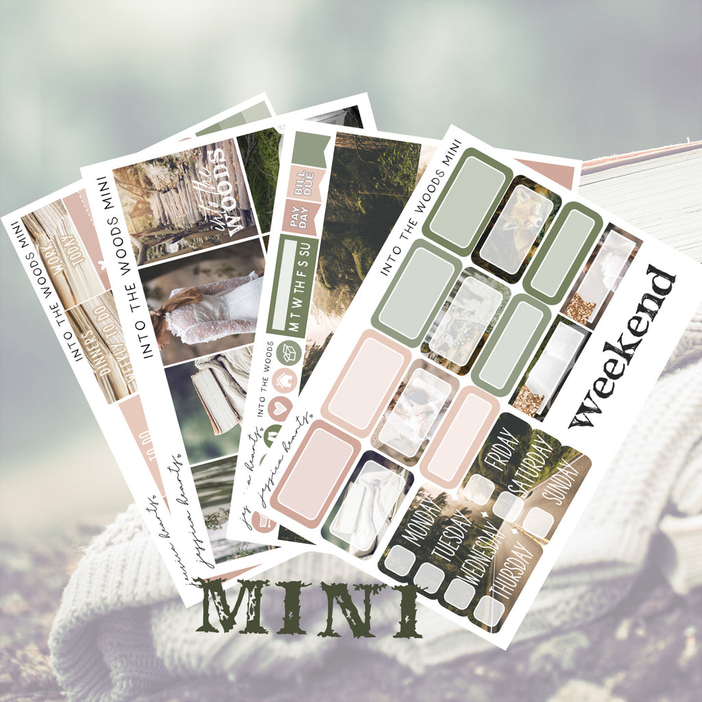 Into the Woods MINI Sticker Kit