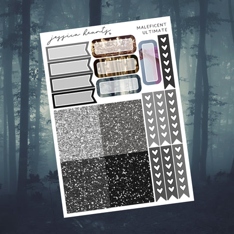 Haunted Mansion Weekly Sticker Kit