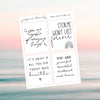 Foil Date Dot Stickers - B (Transparent)