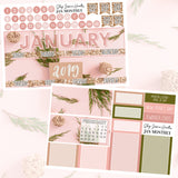 Sparkle January Monthly Kit,  - Jessica Hearts