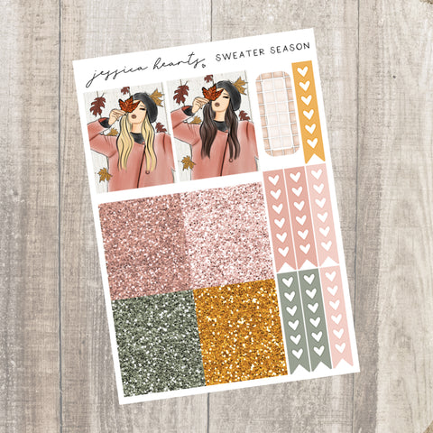 Fall Afternoon Weekly Sticker Kit