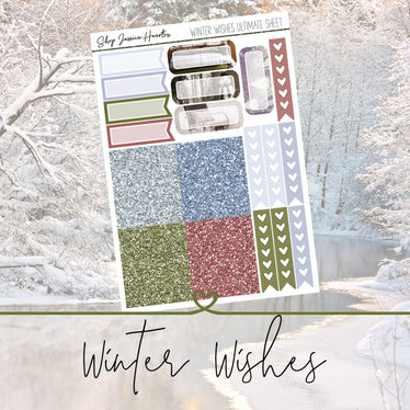 Winter Wishes Ultimate Sheet,  - Jessica Hearts