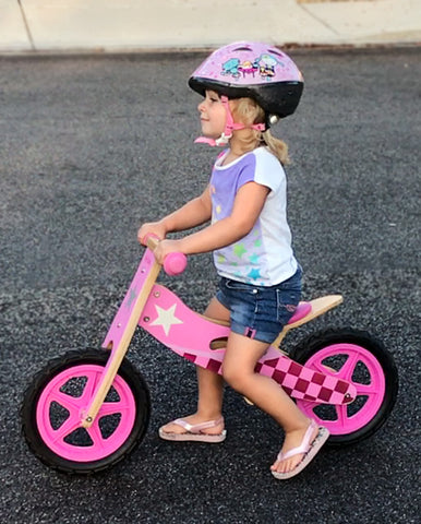wild baby toddler balance bike