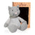 Microwave Plush Pal with Hot Cold Therapy Pack - Knit Cat