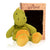 Microwave Plush Pal with Hot Cold Therapy Pack - Knit Dinosaur
