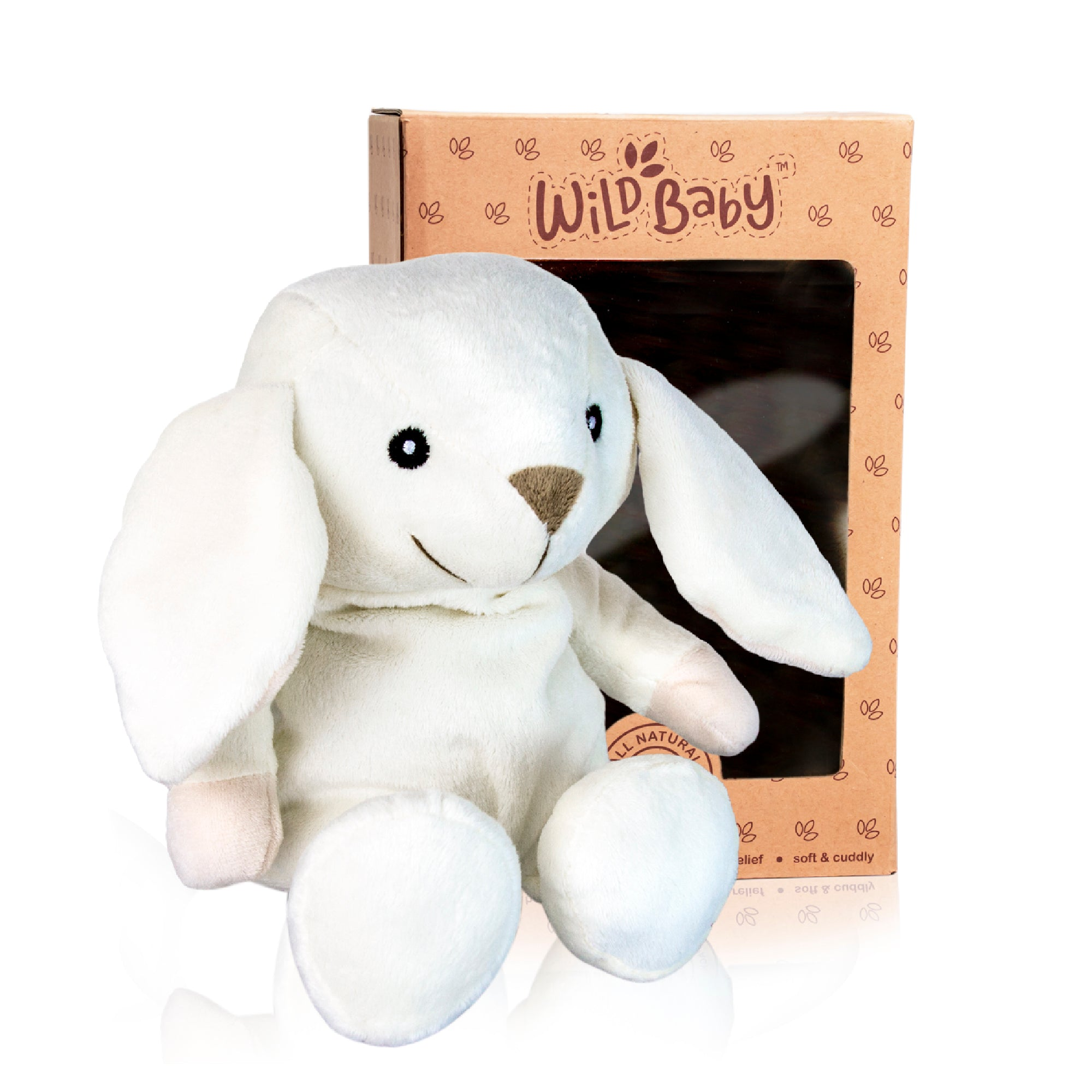 Microwave Plush Pal with Hot Cold Therapy Pack - Bunny
