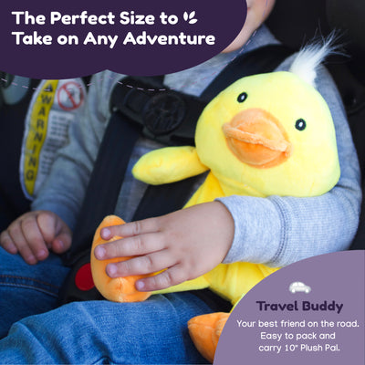 Microwave Plush Pal with Hot Cold Therapy Pack - Ducky