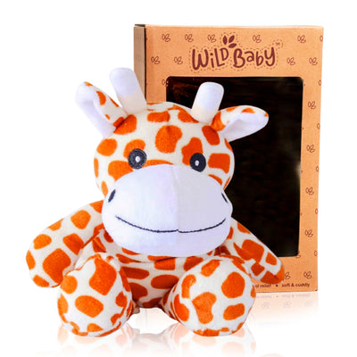 Microwave Plush Pal with Hot Cold Therapy Pack - Giraffe