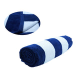 "X-LARGE (35""x 60"") CABANA STRIPE TOWEL for Beach Pool Eco 100% Cotton MADE IN TURKEY"