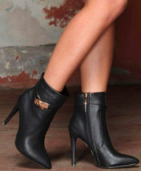 Cassie Faux Leather Boot