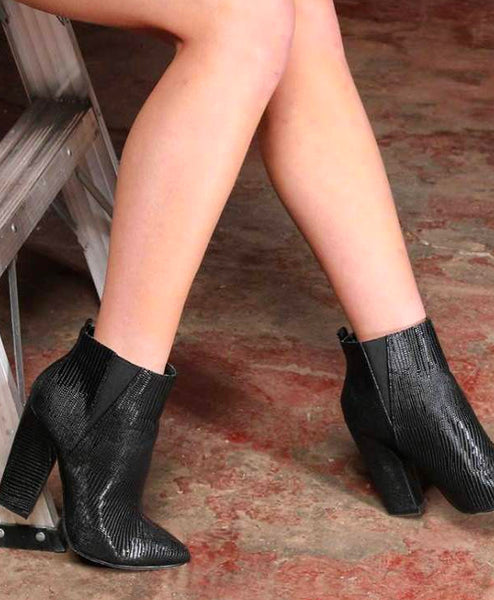"Morgan Boots With 3"" Heels"
